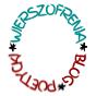 Logo dwukolorowe strony Wierszofrenia